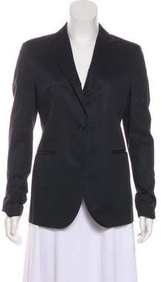 Lanvin Long Sleeve Button-Up Blazer