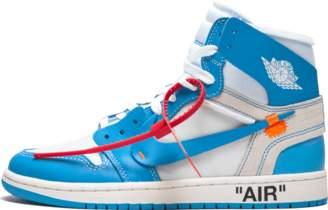 Jordan Air 1 x Off White NRG 'Off-White - UNC' - White/Dark Powder Blue