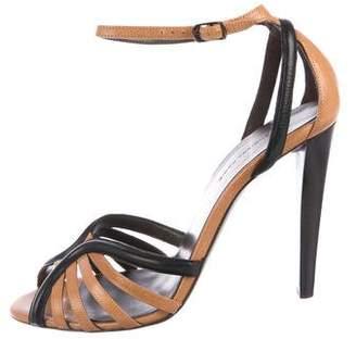 Balenciaga Leather High-Heel Sandals
