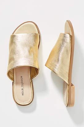 780ae27c79d Kelsi Dagger Brooklyn Ruthie Metallic Slide Sandals