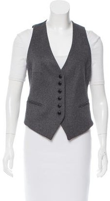 Barbour Wool Fitted Vest $130 thestylecure.com