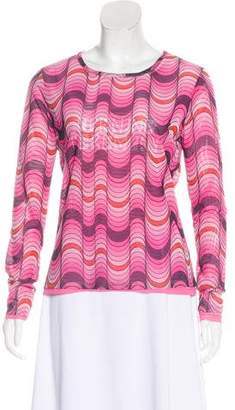 Opening Ceremony Printed Long Sleeve Top w/ Tags