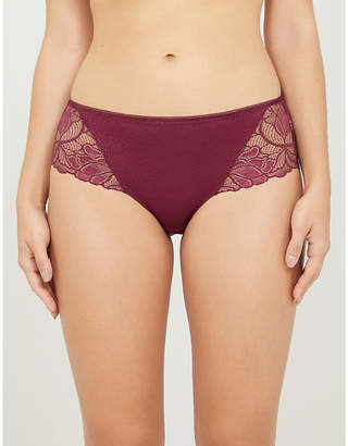 Fantasie Memoir high-rise lace shorty briefs