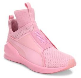 PUMA Fierce Bright Mesh Sneakers $100 thestylecure.com