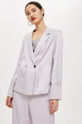 Topshop Satin Jacket