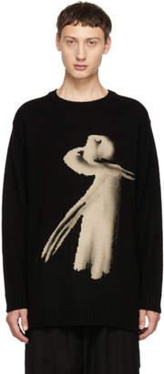 Yohji Yamamoto Black Women Crewneck Sweater