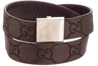 Gucci Guccissima Canvas Belt
