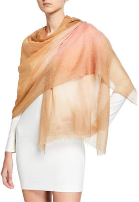 Bindya Accessories Lightweight Gradient Sparge Cashmere Stole