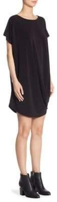 Issey Miyake Draped Jersey Shift Dress