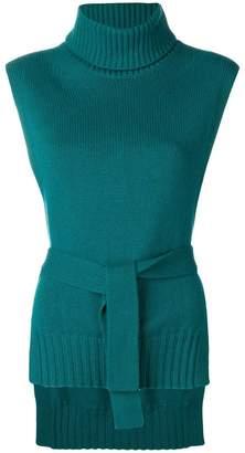 Etro sleeveless intarsia jumper