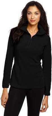 Columbia Women Arctic Air Fleece 1/2 Zip Pullover Sweatshirt (S, )