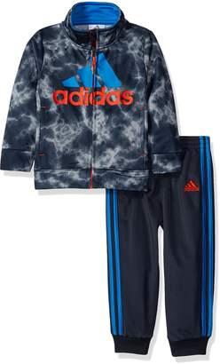 adidas Boys' Smoke Screen Jacket Set