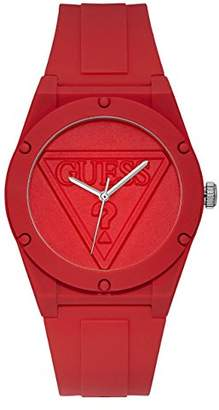 GUESS Logo Silicone Casual Watch
