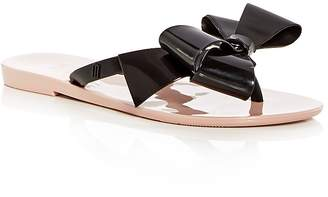 Mini Melissa Girls' Mel by Melissa Harmonic Bow Iii Flip-Flop Sandals