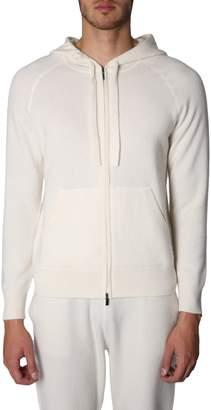 Ermenegildo Zegna Sweatshirt With Zip And Hood