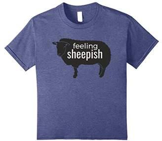 Feeling Sheepish Cute Sheep T-Shirt Sheep Farmers