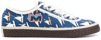 Marni sailboat printed sneakers