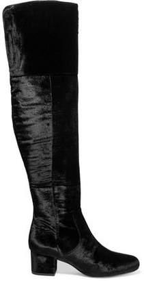 Sam Edelman Elina Velvet Over-The-Knee Boots