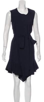 Vionnet Sleeveless Knee-Length Dress