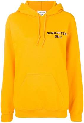 Semi-Couture Semicouture loose fitted hoodie