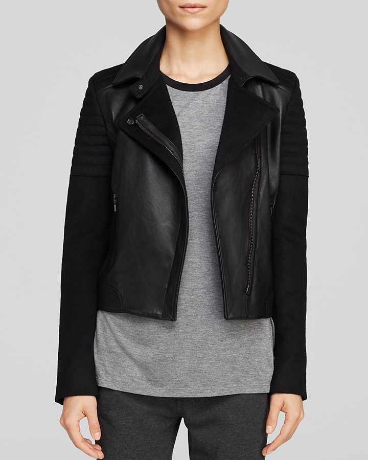Vince Jacket - Quilted Leather