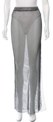 JADE SWIM Mesh Maxi Skirt w/ Tags