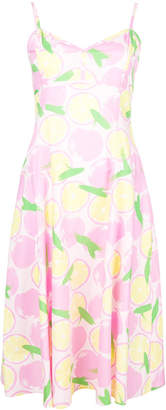 Moschino fruit print dress