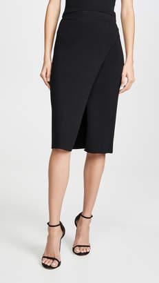 Jonathan Simkhai Deep Rib Wrap Skirt