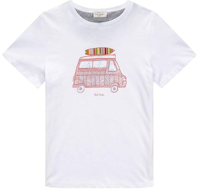 Reed Campervan Print T-Shirt