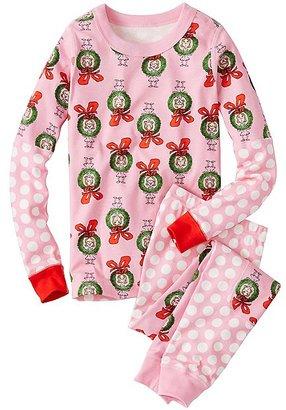 Dr. Seuss Long John Pajamas In Organic Cotton $46 thestylecure.com