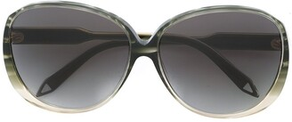 Victoria Beckham large oval sunglasses