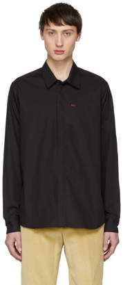 424 Black Logo Dress Shirt
