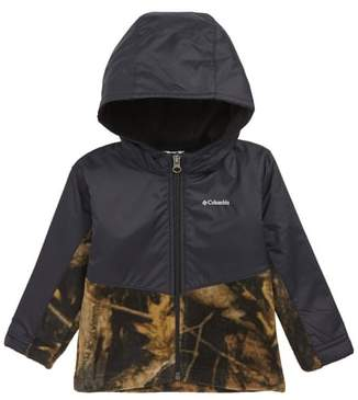 Columbia Steens Mountain(TM) Overlay Hooded Jacket