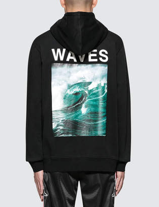 Marcelo Burlon County of Milan Waves Hoodie