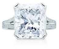 Tiffany & Co. Rectangular diamond ring