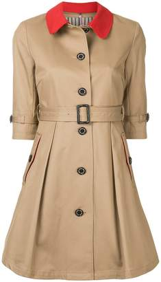 GUILD PRIME short-sleeve swing coat