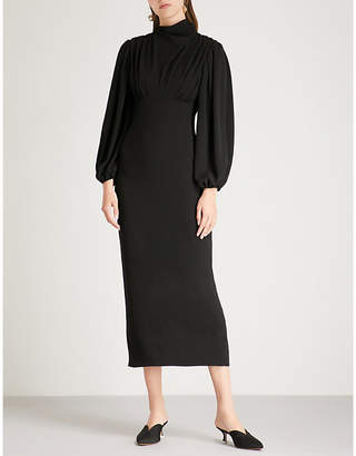 Emilia Wickstead Niamh stretch-crepe dress