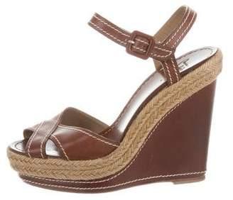 Christian Louboutin Platform Wedge Sandals
