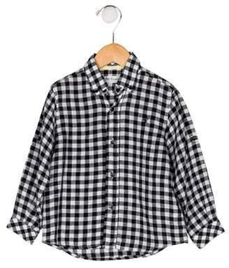 Carrera Pili Boys' Gingham Shirt