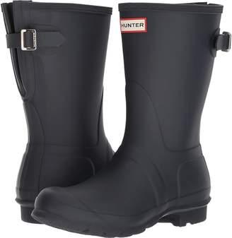 Hunter Short Back Adjustable Rain Boots Women's Rain Boots