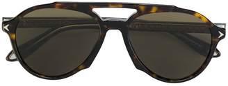 Givenchy Eyewear tortoiseshell-effect aviator sunglasses