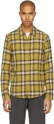 Attachment Yellow Check Shirt