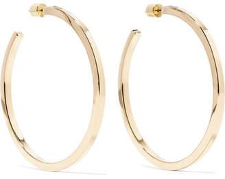 Jennifer Fisher Shane Gold-plated Hoop Earrings