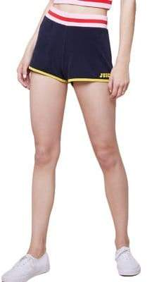 Juicy Couture Juicy by Logo Microterry Shorts