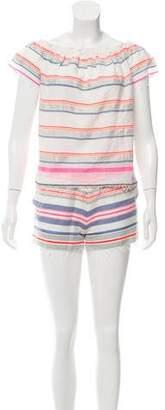 Lemlem Striped Woven Short Set w/ Tags
