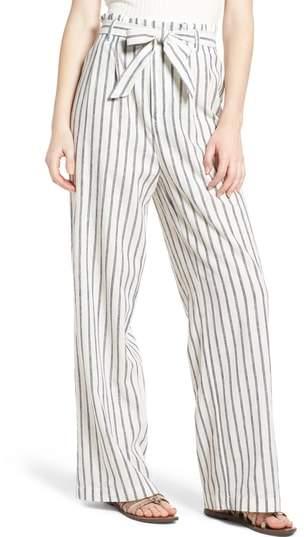 Ten Sixty Sherman Paper Bag Linen & Cotton Pants