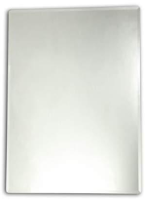 Chloé Lighting Lighting GOODWIN Large Frameless Wall Mirror 28x35