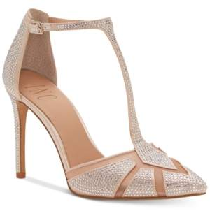 INC International Concepts I.n.c. Women's Karsyn T-Strap Evening Sandals, Created for Macy's Women's Shoes