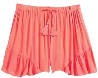 Zoe and Rose Ruffle Hem Shorts (Big Girls)