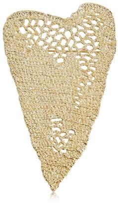 Maison Margiela Heart Crochet Pin
